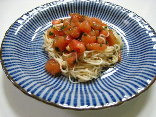 トマトのそうめん by:薫さん