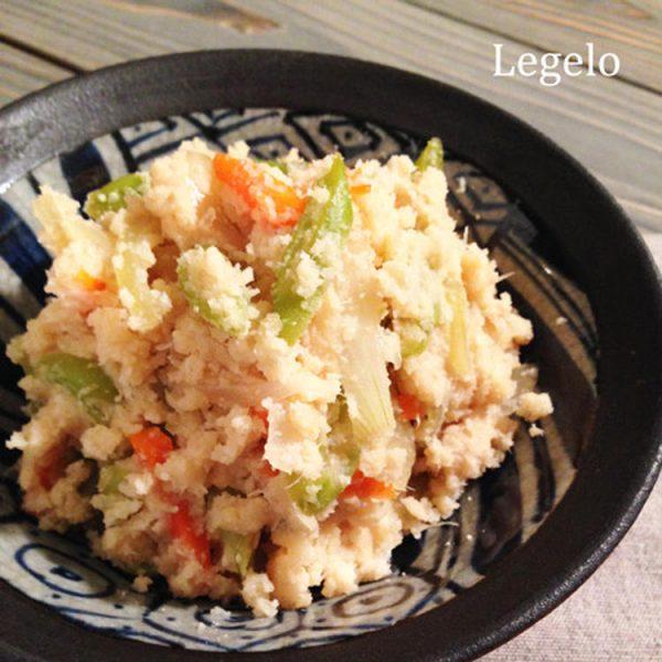甘酢味のおから煮☆お酢でしっとり&旨味をプラス♪ by:Legeroさん