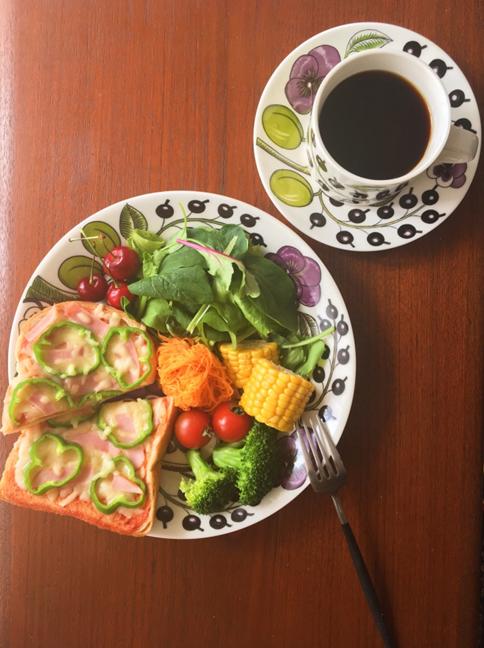 NAOKOさんのワンプレート朝食