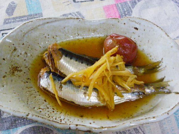 生姜たっぷりのいわしの酢煮 by:Amaneさん
