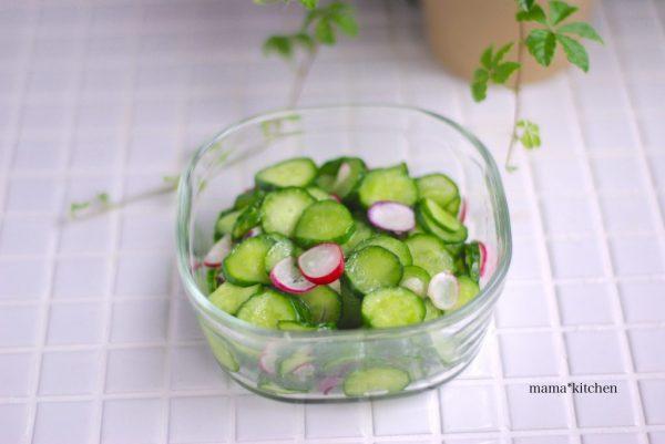 大量消費レシピ!簡単すぎる作り置き「きゅうりの塩ナムル」 by:Mayu*さん
