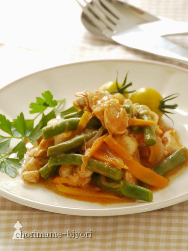 チキンのタイ風ケチャップ煮 by:西山京子/ちょりママさん