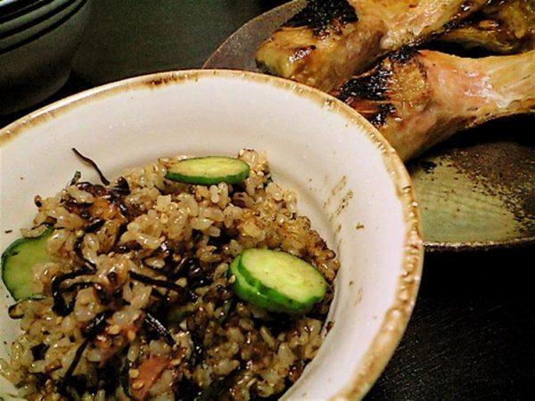 きゅうりと梅干しの混ぜごはん by:noshadeさん