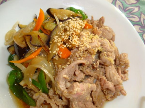 *夏野菜と豚肉のさっぱり素麺* by:happyspiceさん