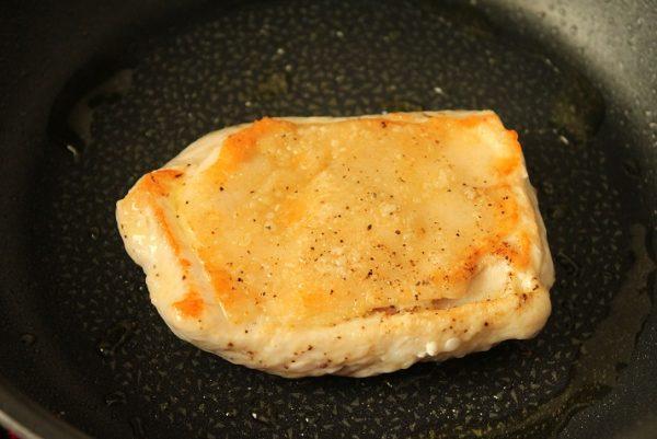 鶏むね肉照り焼き