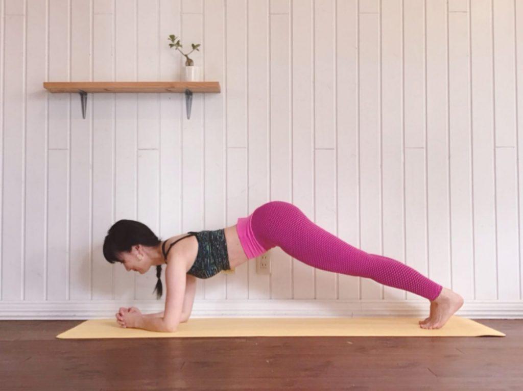 食べても飲んでも太らない体へ!代謝を上げる「動くプランク」エクササイズ