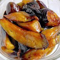 照り照りジュワッ♪ご飯によく合う簡単作り置き「なすの蒲焼き風」