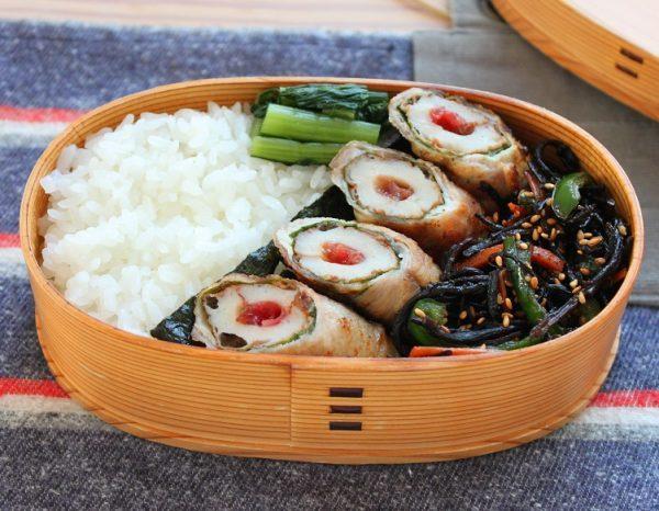 フライパン1つ!「梅ちくわの肉巻き」「ひじきと野菜の炒め物」 by:料理家 かめ代さん