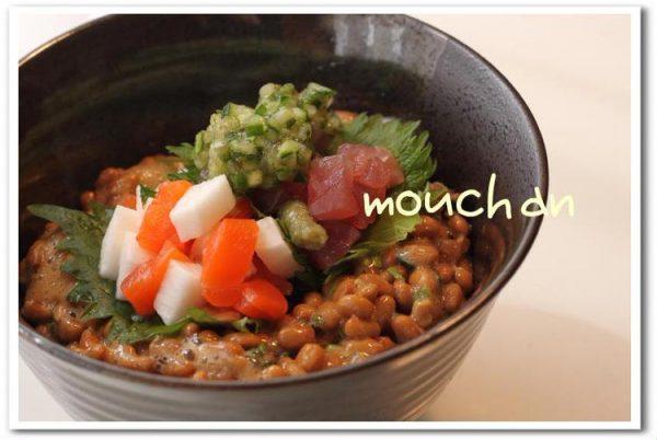 ☆サーモンとマグロのネバネバ丼☆ by:モーちゃんさん