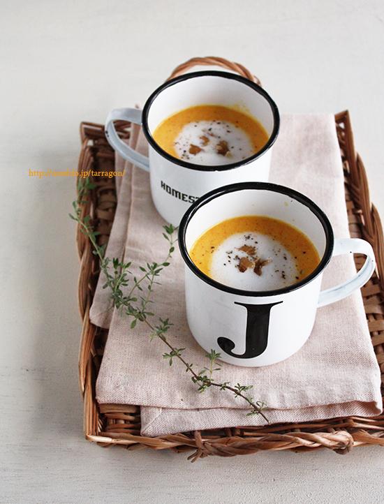 【レンジで10分、にんじんと玉ねぎの食べるポタージュ。】 by:タラゴン(奥津純子)さん