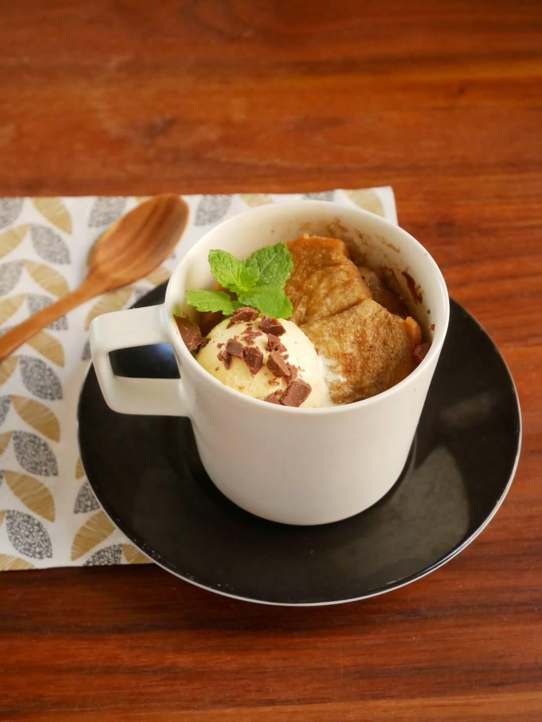 マグカップ1つ+レンジで簡単!ちょっと大人な「カフェオレフレンチトースト」