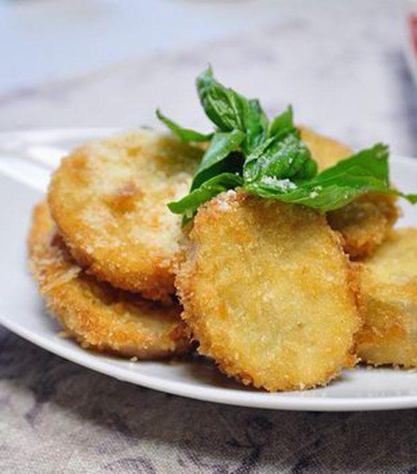 なすのフライ♪ チーズ&タルタル&ドレッシング(月草さん)