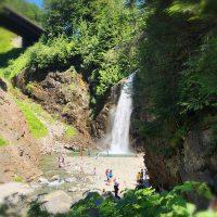シアトルで涼を得る★フランクリン滝