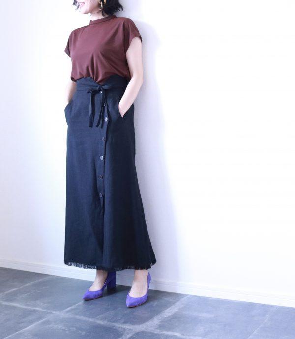 夏→秋仕様におしゃれをシフト!「カラー配分」コーデ