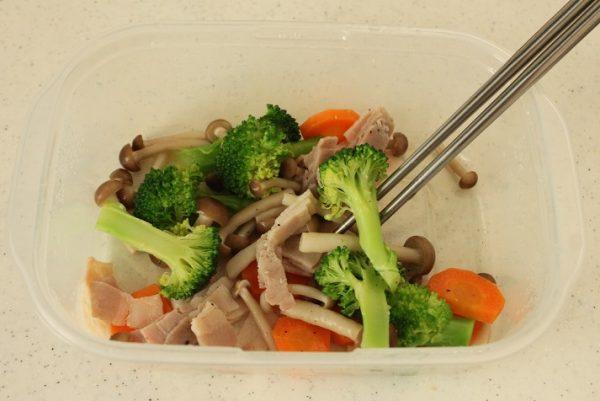 野菜ベーコン