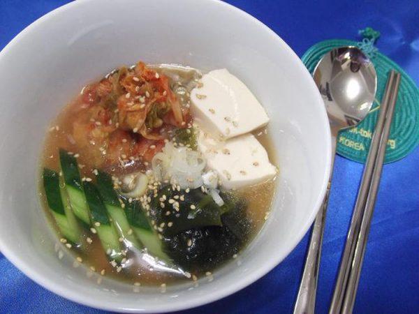 冷製☆スンドゥブ・チゲ風スープ by:さちくっかりーさん