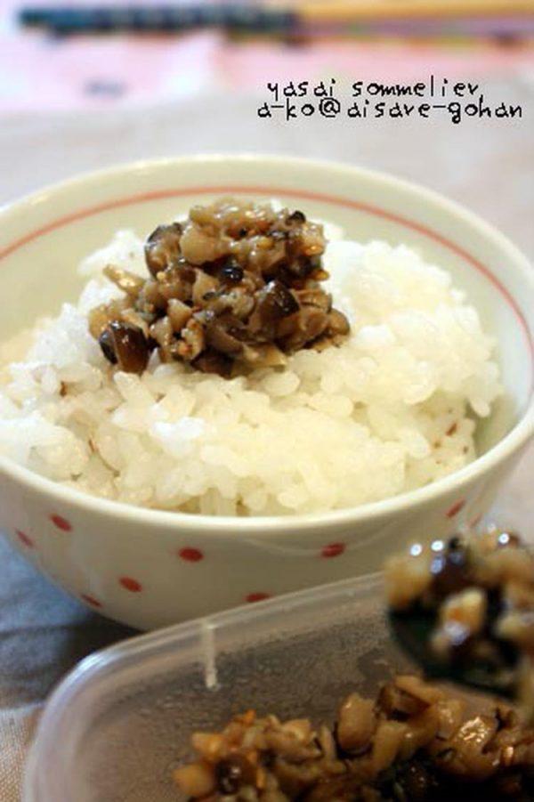 レンジで2分の常備菜♪「ピリ辛キノコのオイル漬け」by:かんざきあつこ(a-ko)さん