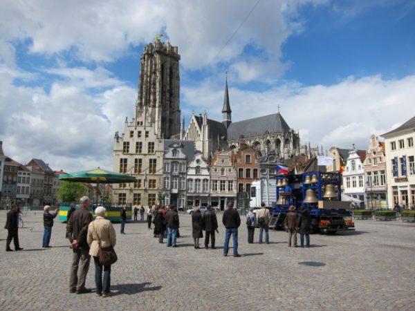 ベルギーの広場