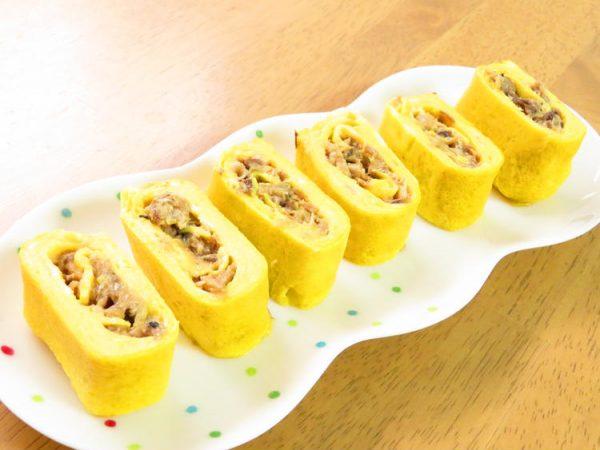 お弁当に☆サバ缶で♪味噌煮缶入り卵焼き by:kaana57さん