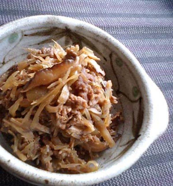 スキヤキ風な常備菜。具たっぷり牛しぐれ煮 by:satohahaさん
