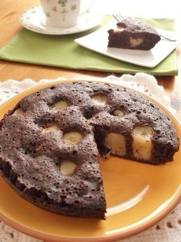 全粒粉入り♪豆乳ココアバナナパンケーキ by:まんまるらあてさん