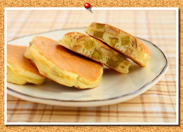 さつまいもとくるみ入りミニパンケーキ by:おおたわ歩美さん