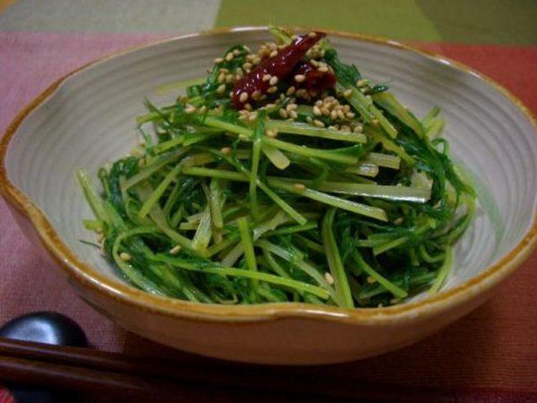 水菜のキンピラ☆ by:マムチさん