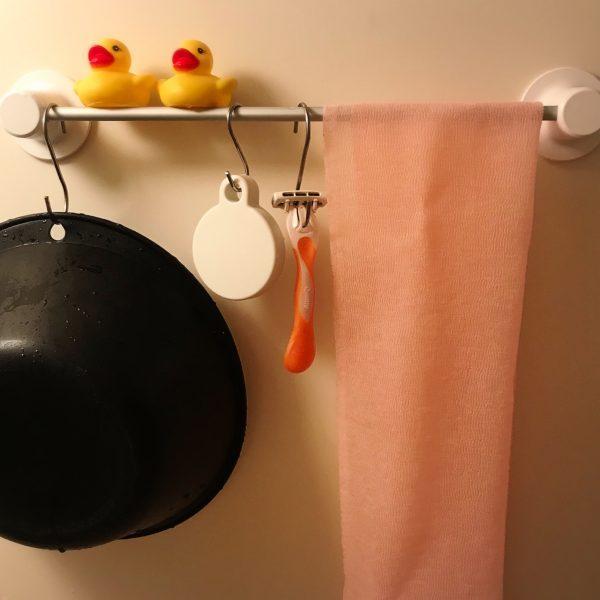 お風呂の壁収納
