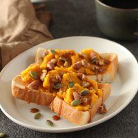 秋の味覚「栗」「かぼちゃ」で簡単!お手軽トーストアレンジ2つ