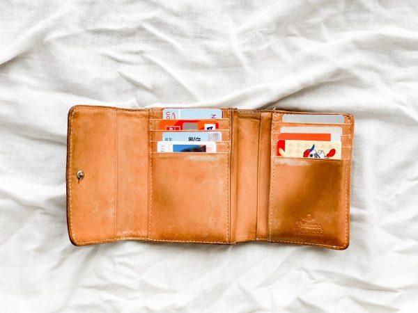 財布の整理