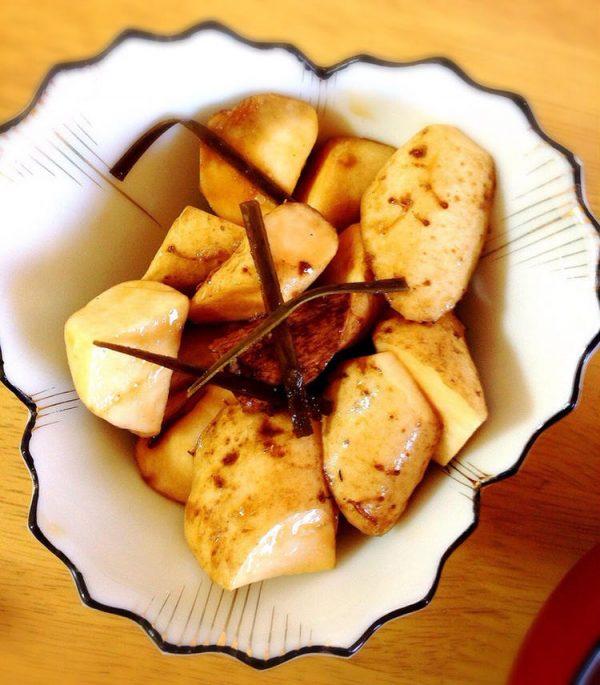 昆布と自然薯で☆シャキシャキ自然薯の浅漬けbyMisuzu