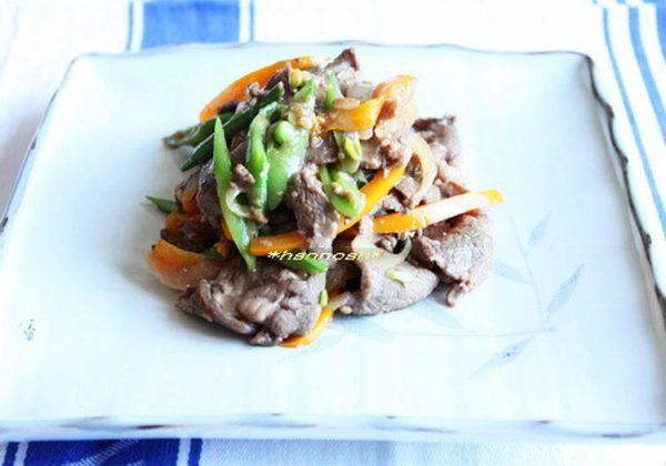 牛肉と野菜の醤油麹炒め by:hannoahさん