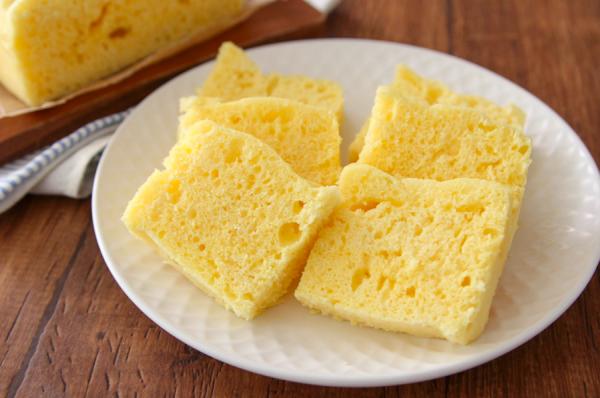 レンジ+材料少しで簡単♪作り置きOKの「塩ヨーグルト蒸しパン」 by:五十嵐ゆかりさん