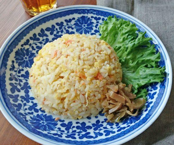レンジで3分、フライパンいらず!お弁当にも便利な「鮭チャーハン」 by:料理家 村山瑛子さん