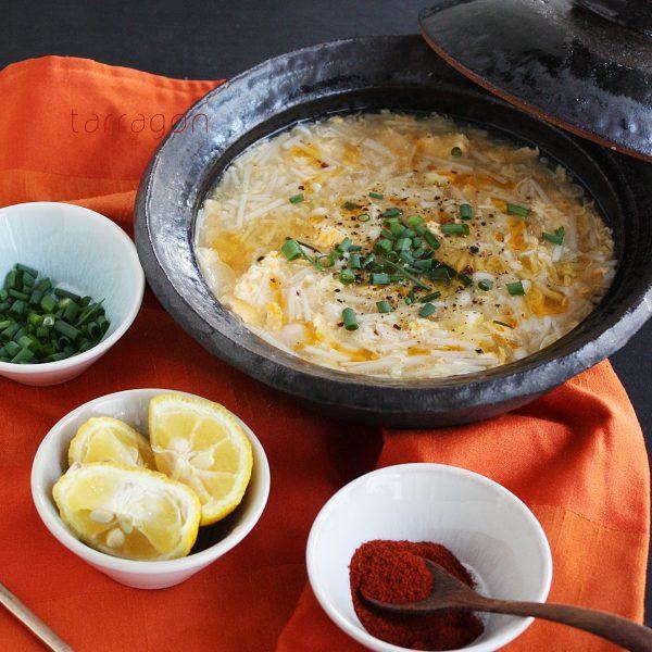 えのきで満腹ダイエット!簡単「サンラータン」のレシピ♪ by:タラゴン(奥津純子)さん