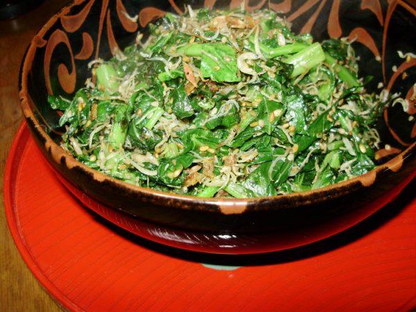 大根菜とじゃこと小エビの炒め物 by:準Jun(はーい♪にゃん太のママ改め)さん