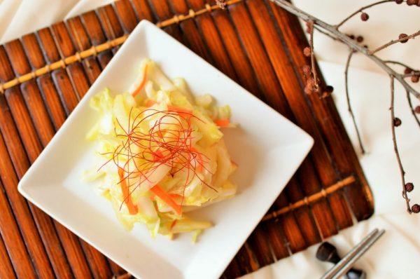 洗い物がラク!ビニール袋でシャカシャカ♪簡単「白菜とリンゴのサラダ」 by:柳沢紀子さん