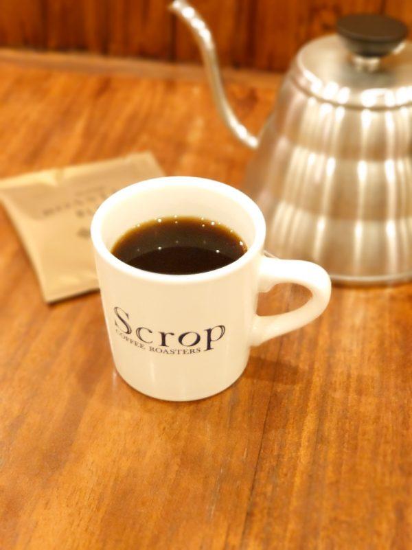 Scrop COFFEE ROASTERSのおいしいコーヒー