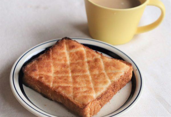 食パン+材料3つだけ!10分で簡単サクサク「メロンパントースト」♪byパン・料理家 池田愛実