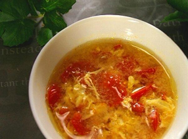 プチトマトと卵のふんわりスープ by:Kae(カエ)さん