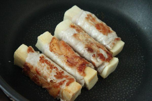 高野豆腐肉巻き
