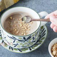 肌寒い朝に。簡単ぽかぽか「豆乳きなこのジンジャーココア」