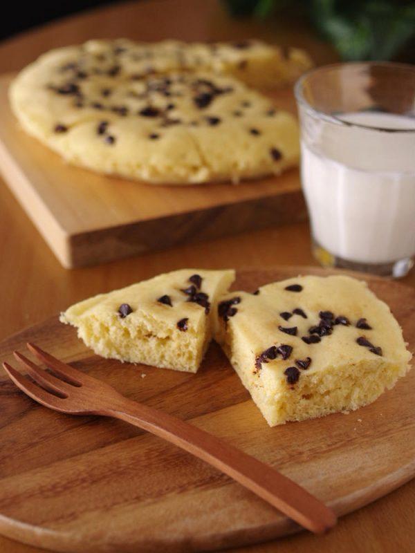 ホットケーキミックスの超簡単チョコ蒸しパン(レンジ使用) by:めろんぱんママさん