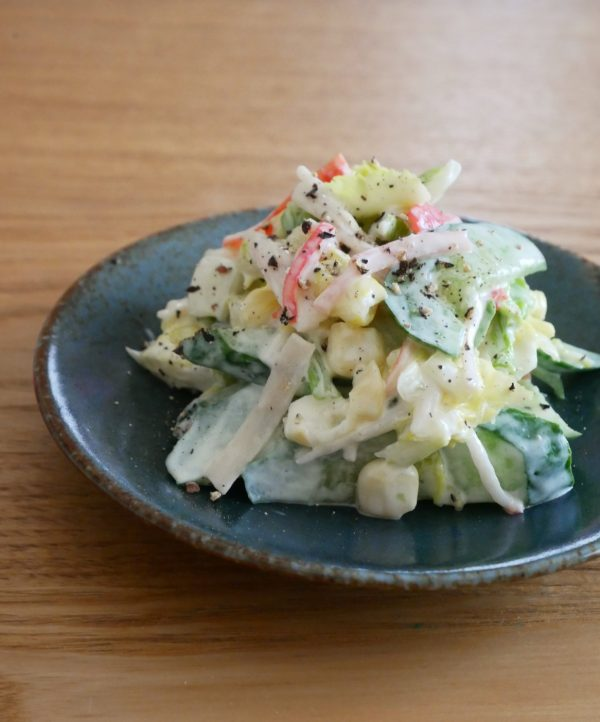 お鍋の余りで簡単作り置き!「白菜の中華風コールスロー」