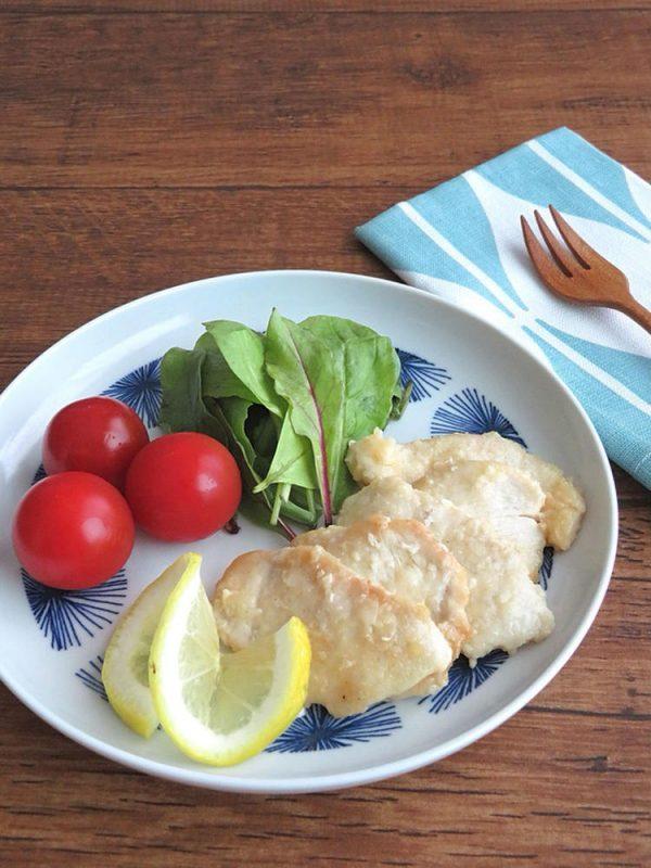 ごはんがすすむ☆鶏むね肉のレモンバターじょうゆソテー by:kaana57さん