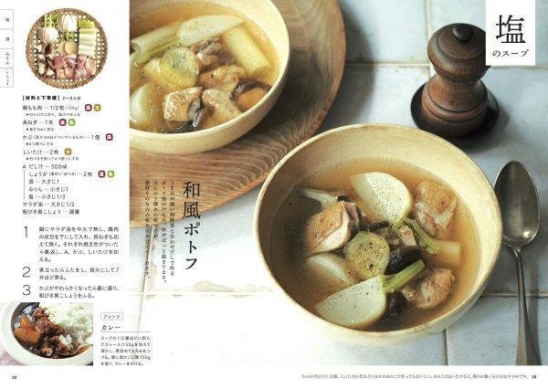 基本調味料で作る体にいいスープ。塩スープ