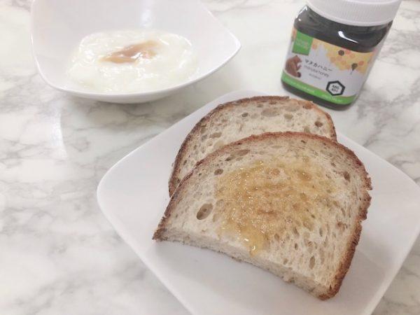 パンやヨーグルトとたのしむマヌカハニー