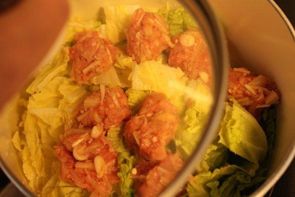 白菜と肉団子