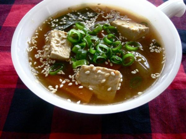 ピリ辛味噌スープ by:きー。さん