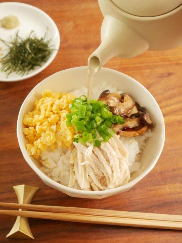 市販のサラダチキン+レンジで簡単!お手軽「鶏飯(けいはん)」 by:料理家 村山瑛子さん